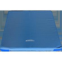 Weichbodenmatte blau