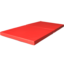 Weichbodenmatte rot
